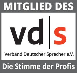 Mitglied im Verband Deutscher Sprecher e.V.