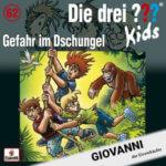 Roland Geiger als Giovanni in Die drei ??? Kids – Folge 62 Gefahr im Dschungel