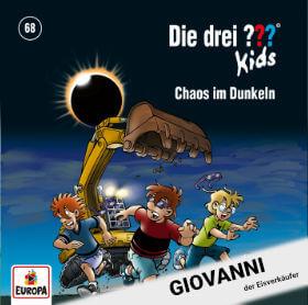 Roland Geiger als Giovanni in Die drei ??? Kids – Folge 68 Chaos im Dunkeln