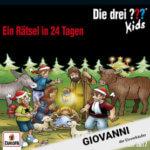 Roland Geiger als Giovanni in Die drei ??? Kids – Adventskalender 2017